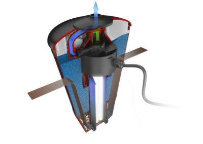 pompe filtrante et flottante pour bain nordique