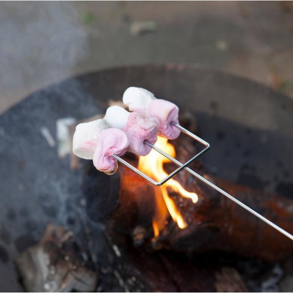 Fourchette à marshmallow pour poele bain nordique